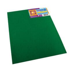 pěnová guma  CPT 80272 B4 2mm zelená tmavá