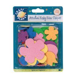 žDO pěnová guma  CPT 80512 výseky samolep. Flowers