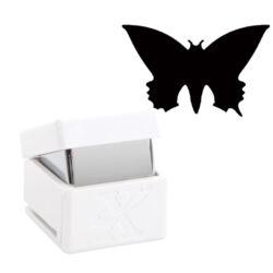 DO výsekový strojek XCU 261707 Pointed Butterfly 1,7-pro papir a karton do 300g pro pěnovou gumu do tloušťky 1mm