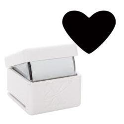 DO výsekový strojek XCU 261805 Traditional Heart  2,6-pro papir a karton do 300g pro pěnovou gumu do tloušťky 1mm