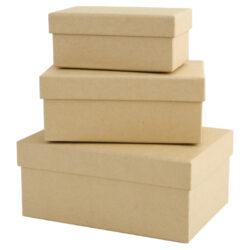 DO krabičky PMA 1742201 sada 3ks obdélník