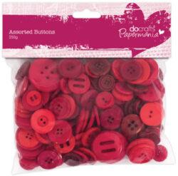 knoflíky PMA 354304 250g Red