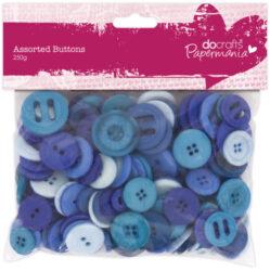 knoflíky PMA 354305 250g Blue