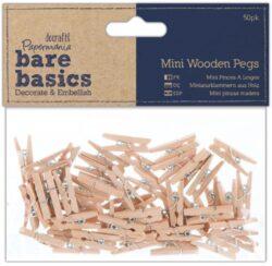 DO kolíčky PMA 174604 dřevo, mini 50 ks