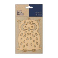 žDO výřez PMA 174607 dřevěný Owl*