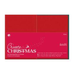 DO obálky+karty PMA 151904 A6 červená/zelená 50ks