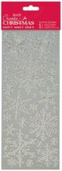 DO samolepky PMA 810922 vánoční Snowflakes Silver