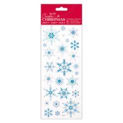 DO samolepky PMA 804907 vánoční Snowflakes