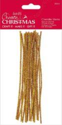 drát plyšový PMA 356950 metal 300mm 20ks Gold