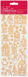 DO samolepky PMA 810927 vánoční Copper