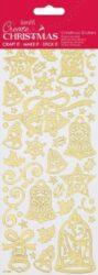 DO samolepky PMA 810934 vánoční zlaté Bells