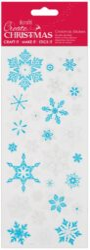 DO samolepky PMA 810935 vánoční Snowflakes