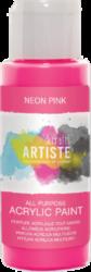 DO barva akryl. DOA 766073 59ml Neon Pink-akrylová barva ARTISTE neonová