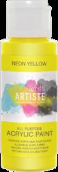 DO barva akryl. DOA 766074 59ml Neon Yellow-akrylová barva ARTISTE neonová