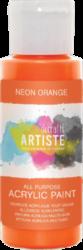 DO barva akryl. DOA 766076 59ml Neon Orange-akrylová barva ARTISTE neonová