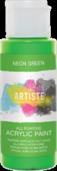 DO barva akryl. DOA 766078 59ml Neon Green-akrylová barva ARTISTE neonová