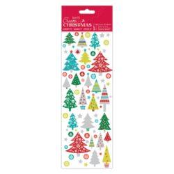 DO samolepky PMA 804912 vánoční Folk Trees