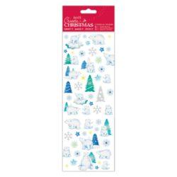 DO samolepky PMA 804914 vánoční Polar Bear
