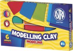 modelína ASTRA teplem tvrditelná  6 barev-TEPLEM TVRDITELNÁ