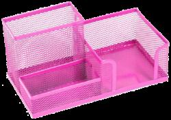 stojánek drátěný víceúčelový Combo růžový