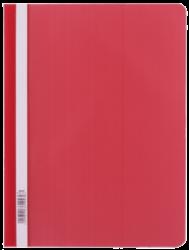 rychlovazač plast  A4 červený LUX (803) 110462-PRODEJ POUZE PO BALENÍ !!