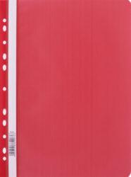 rychlovazač plast A4 s euroděr.červený LUX 110467-PRODEJ POUZE PO BALENÍ !!