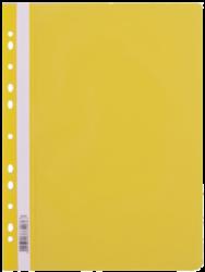 rychlovazač plast A4 s euroděr.žlutý LUX 110470-PRODEJ POUZE PO BALENÍ !!