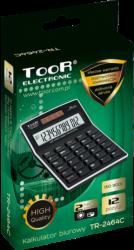 kalkulačka KW TR-2464C 120kroků 12 míst černá 120-1476(5903364209919)
