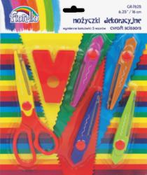 nůžky kreativní sada 5ks Fiorello 130-1674