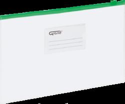 desky se zipem A5 EC-007B zelené 120-1473