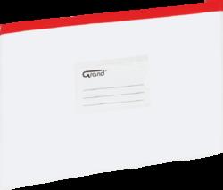 desky se zipem A5 EC-007B červené 120-1470
