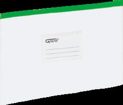 desky se zipem A4 EC-009B zelené 120-1465