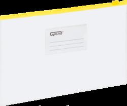 desky se zipem A4 EC-009B žluté 120-1463