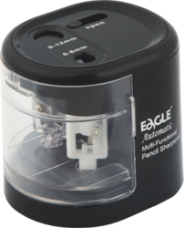ořezávátko stolní elektrické-ořezávátko na 4 x 1,5 V baterie AA (nejsou součást balení) nebo USB kabel (součást balení)