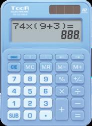 kalkulačka KW TR-1223DB-B dvouřádková modrá 120-1901-10 míst, 2řádkový displej