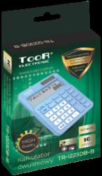 kalkulačka KW TR-1223DB-W dvouřádková bílá 120-1900(5903364218713)