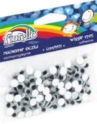oči  7mm lepící 150ks 170-2269