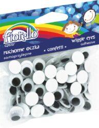 oči samolepící 12mm 80ks 170-2270