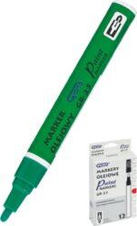 popisovač lakový GR-25 zelený 160-1967-světlostálý, nesmyvatelný popisovač