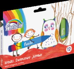 voskovky Fiorello 12ks JUMBO 170-1384