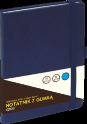 záznamní kniha KW A5 linka 80l koženka modrá 150-1424