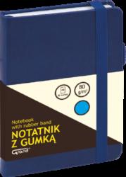 záznamní kniha KW A6 linka 80l koženka modrá 150-1426
