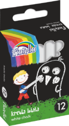 křídy Fiorello bílé 12ks 170-2128-křídy bílé