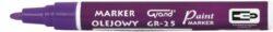 popisovač lakový GR-25 fialový 160-2009-světlostálý, nesmyvatelný popisovač
