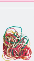 gumičky barevné mix 25gr 130-1062