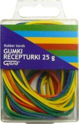 gumičky barevné mix 25gr plast.krabička 130-1715