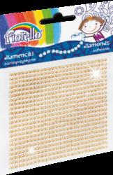 kamínky perličky 170-2398 samolepící zlaté