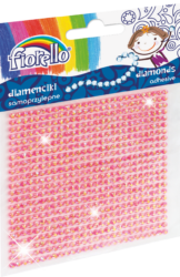 kamínky perličky 170-2400 samolepící růžové