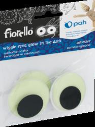 oči samolepící  40mm 4ks fluorescenční 170-2561