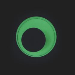 oči samolepící  25mm 10ks fluorescenční 170-2562(5903364279851)